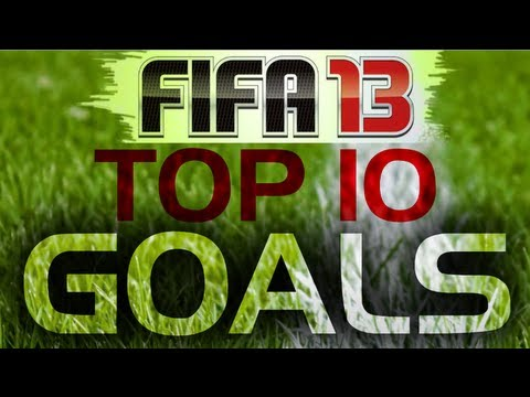FIFA 13 I Top 10 Best Goals of 2012