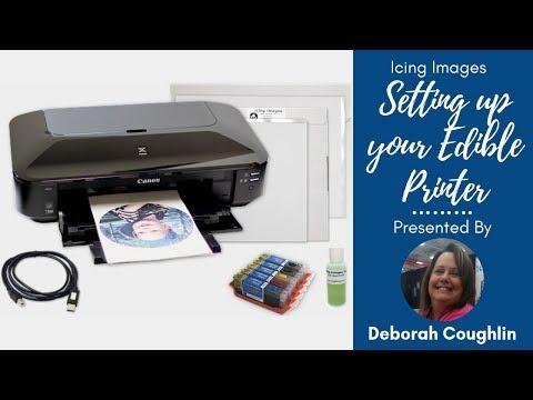 How to Setup Your Edible Printer