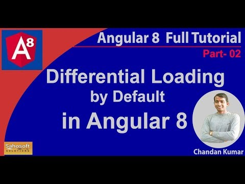 Differential Loading by Default in Angular 8 | Differential Loading in angular 8 thumbnail