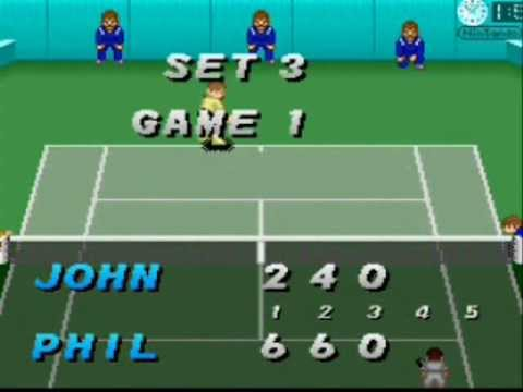 SNESOT Super Tennis Online Tour - Gabriel West vs McMannus - QF AO 2013 Part 2/2