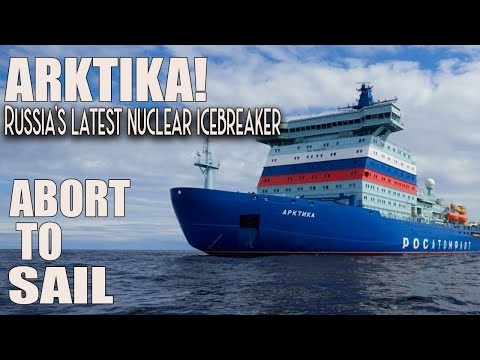 ARKTIKA! Russia's latest nuclear icebreaker had to abort maiden Arctic voyage