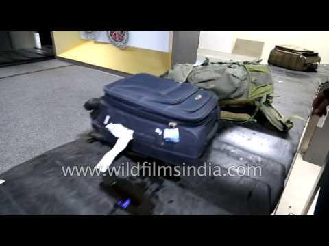 Baggage claim at IGI Airport T3 or 1D? New Delhi