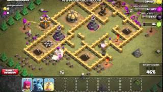 Clash of Clans - Koboldpicknick Level 38 mit 192 Bogenschützen Level 3