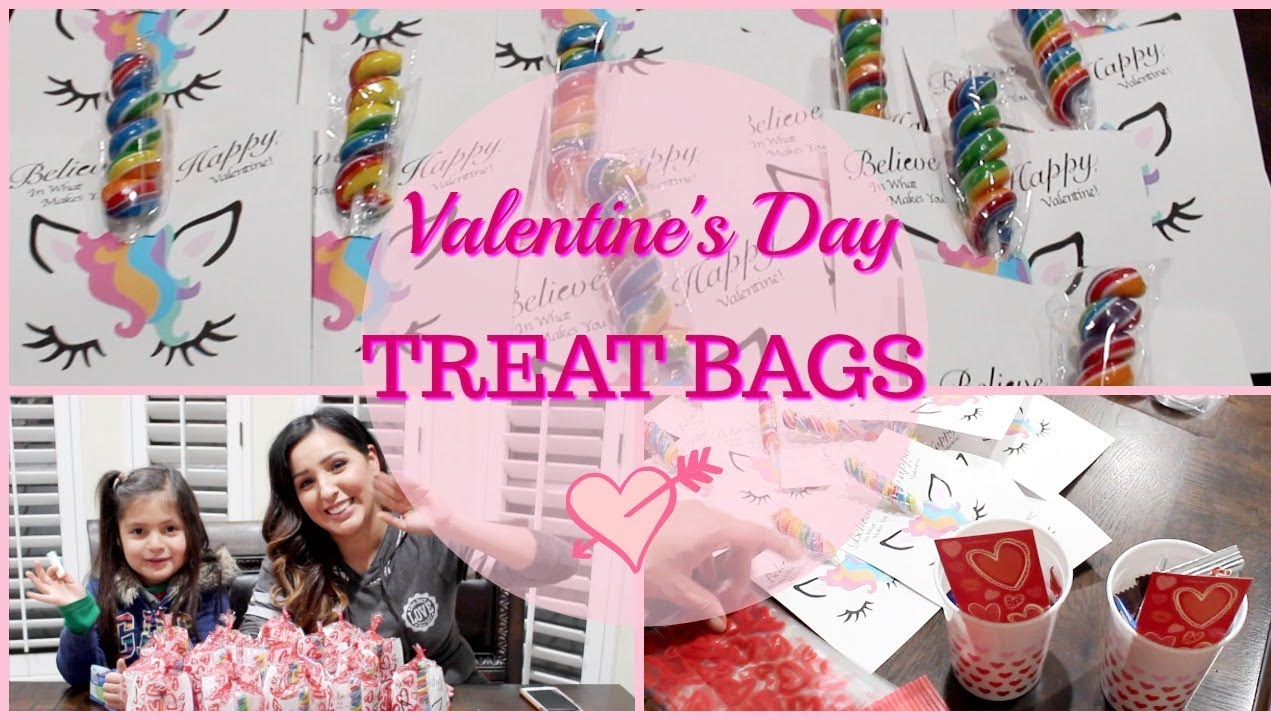 Valentine S Day Treat Bags Mom Life Youtube