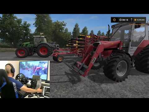 farming simulator 2017 teaching my dad how to farm episode 1 part 1