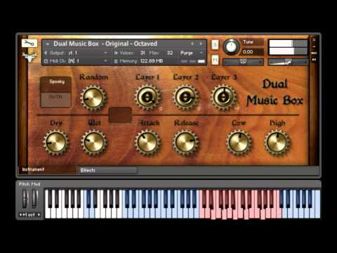 Dual Music Box demo