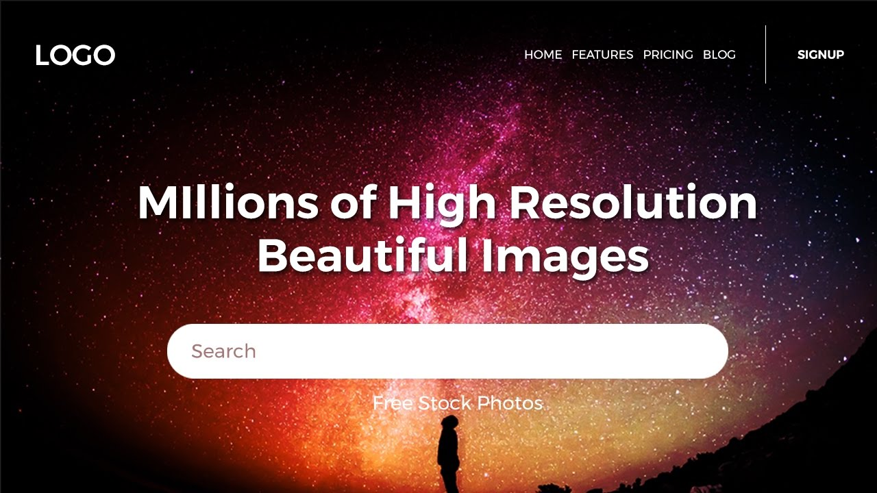 How To Design Cool Website Header In Photoshop Web Design Tutorials Youtube