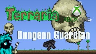 Terraria Xbox One Let's Play - Dungeon Guardian [38]