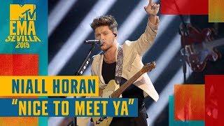 Niall Horan – Nice To Meet Ya (LIVE) / MTV EMA 2019