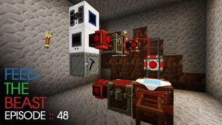 Minecraft Feed The Beast - E48 :: Industrial TNT Machine