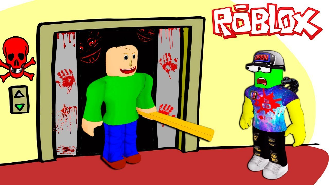 roblox scary elevator games