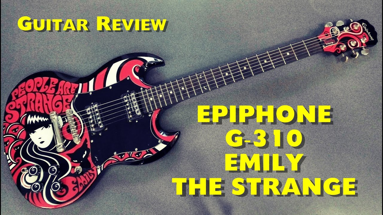 Epiphone Sg 310 Wiring Diagram Detailed Schematics G Emily The Strange Review Guitar 245 Youtube Dimensions