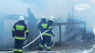 NA SYGNALE: Spłonęły dwa auta i ciągnik / Pożar w m.Sierbowce