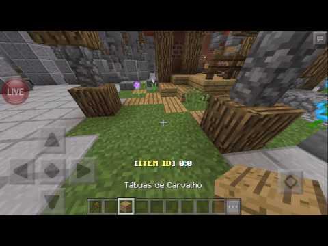 LIVE Construindo lobby do SkyPlex! Minecraft PE