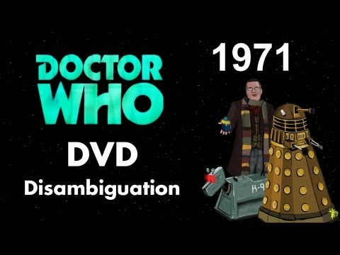 Doctor Who DVD Disambiguation - Season 8 (1971)