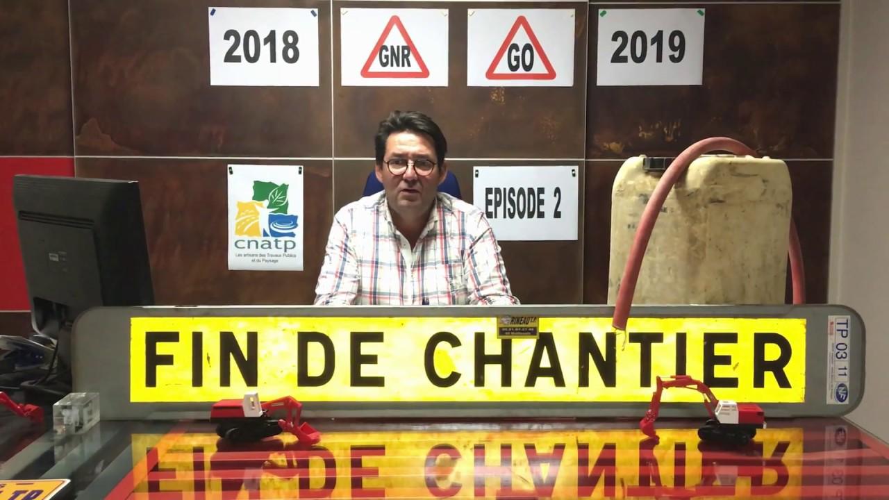 Fin du tarif réduit de TICPE sur le GNR : l'alerte du Président de la CNATP de Vendée - Episode 2
