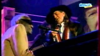 "Willie Nelson & Ray Charles - ""Seven Spanish Angels""  ((Live))"
