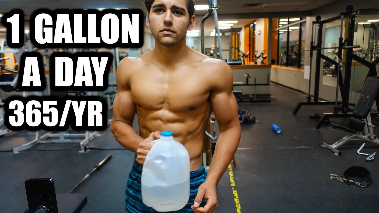 What Drinking A Gallon of Water A Day Did To Me | Everyday For A Year