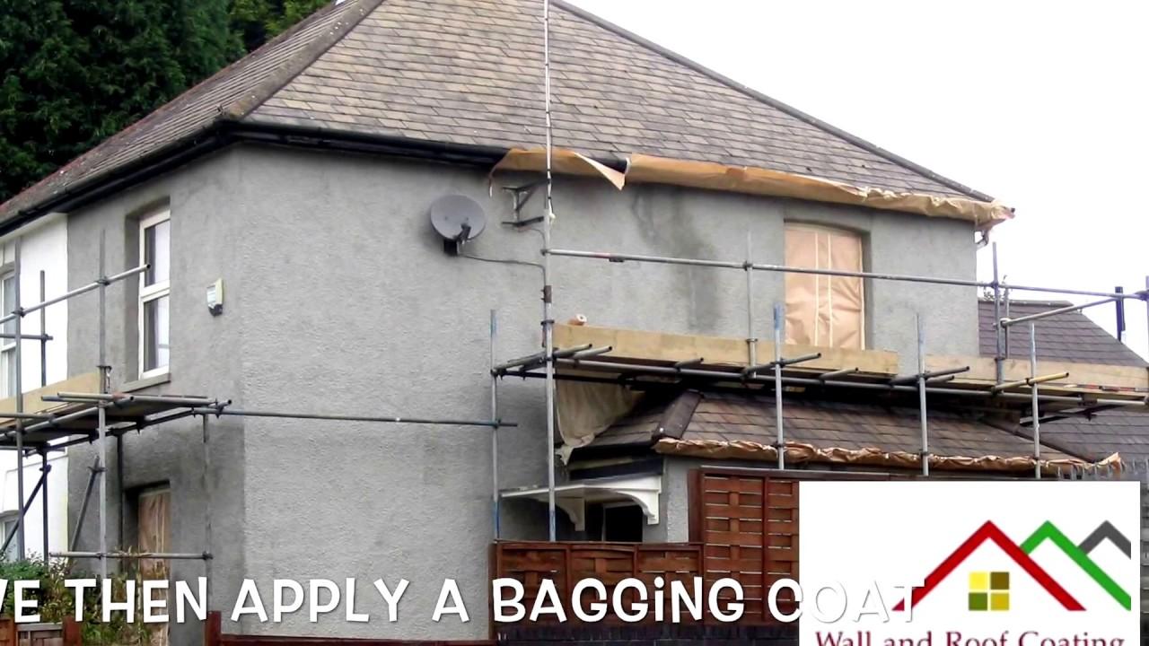 Wall And Roof Coating Ltd . Exterior Wall Coatings U.K. Kent Essex London