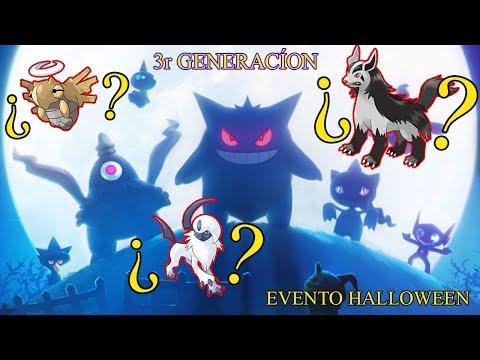 ¿EVENTO HALLOWEEN MÁS 3r GENERACIÓN? TODOS LOS FANTASMA Y SINIESTRO! [Pokémon GO-davidpetit]
