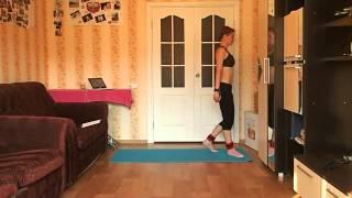 Упражнения для похудения. Тренировка 06.08.2014(, 2014-08-06T17:58:07.000Z)