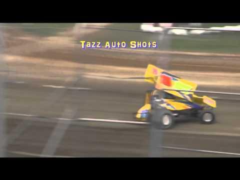 Sprintcars Heat 1 Latrobe Speedway 19/3/16