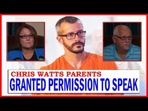 Chris Watts Parents Granted Permission To Speak During Son's Sentencing Hearing