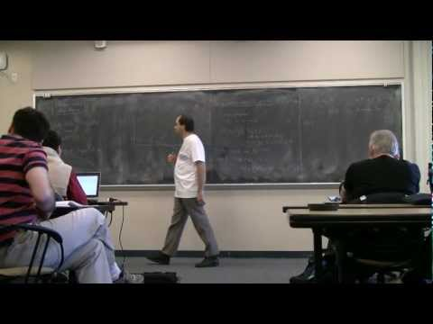 Xavier Caruso: Explicit p-Adic Hodge Theory (at Sage Days 36) -- part 2 of 2