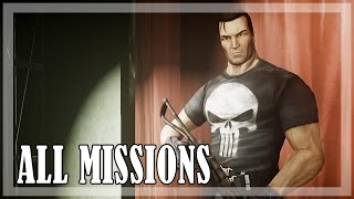 The Punisher - All missions, Full game