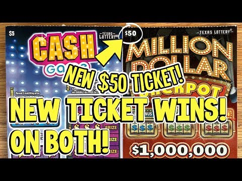 $200 IN TICKETS! 💰 NEW $50 Million Dollar Jackpot + 10X Cash Game! ✪ TX LOTTERY Scratch Offs
