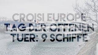 CROISI EUROPE Tag der offenen Tür: 9 KREUZFAHRTSCHIFFE| Vlog 190