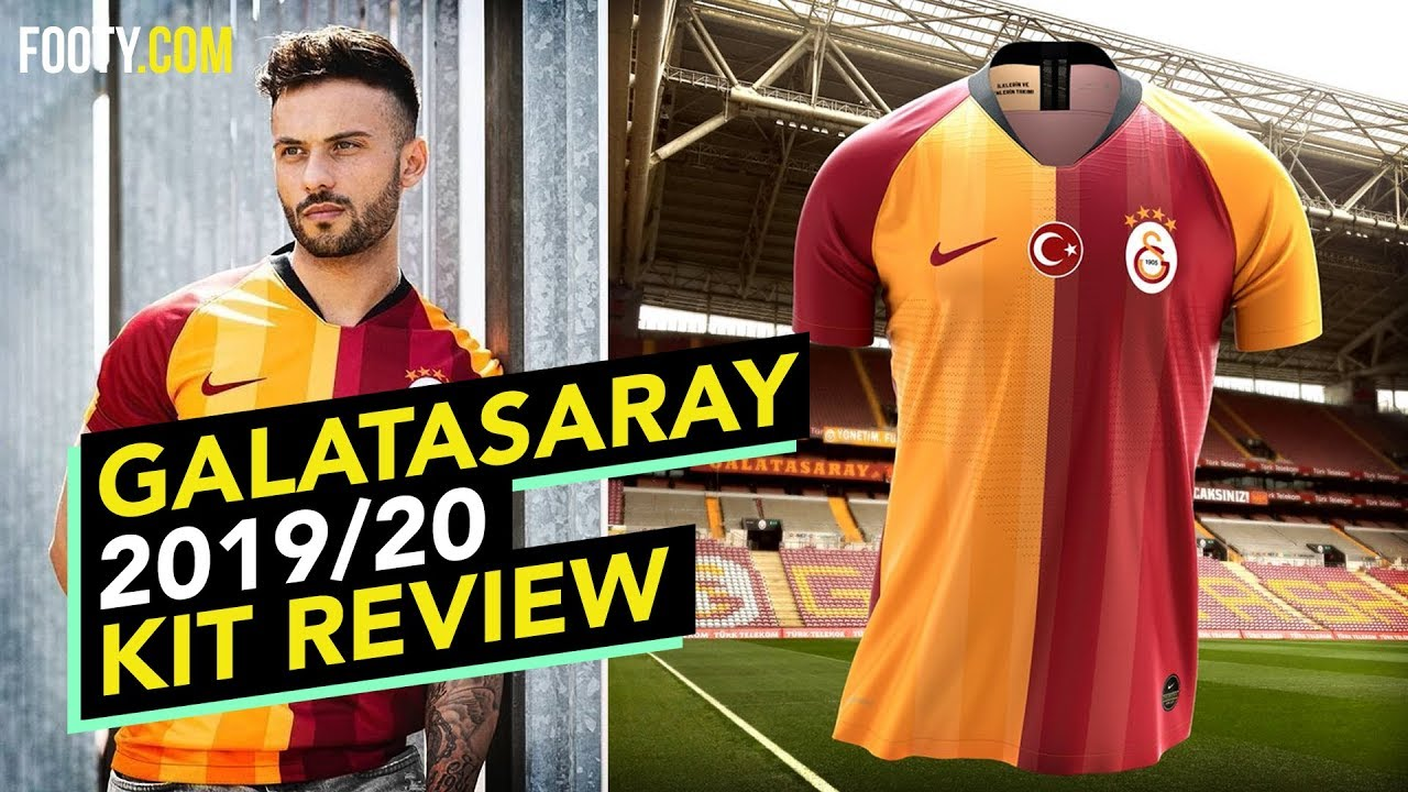 separation shoes 9a362 6df79 GALATASARAY 2019/20 NIKE HOME SHIRT | KIT REVIEW