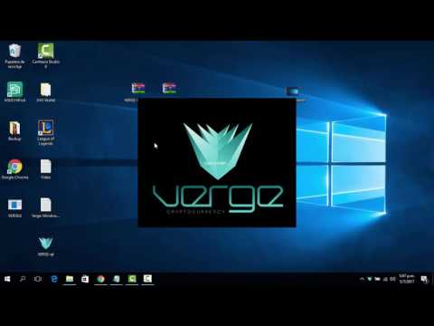 How to install Verge ($XVG) Desktop Wallet for Windows using the blockchain file directly