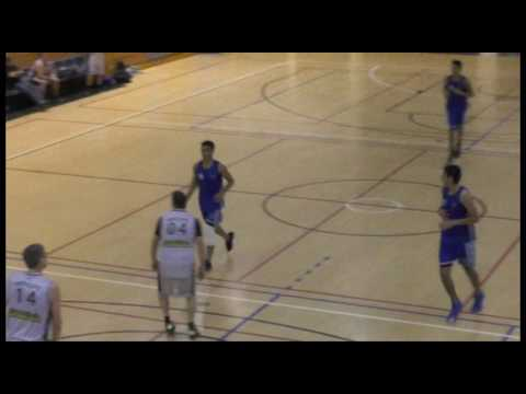Ethan Lehmann (Blue #22), 6'3, SF, Class of 2017 (New Plymouth, New Zealand) - FULL GAME 4