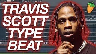 How to make a Travis Scott Type Beat in FL Studio 20 - FL Studio Tutorial