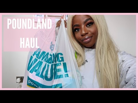 Poundland Haul August 2019 | Huge Poundland Home Haul