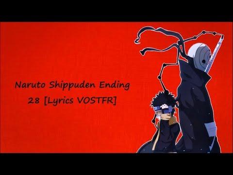 Naruto Shippuden Ending 28 [Lyrics VOSTFR]