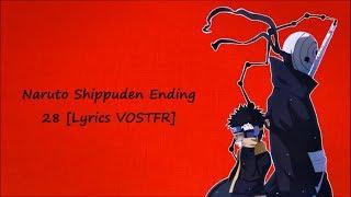 Naruto Shippuden Ending 28 [Lyrics VOSTFR] MP3