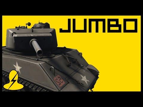 M4A3E2 JUMBO SHERMAN (American Heavy Tank) — Heroes & Generals (Tanker Gameplay)