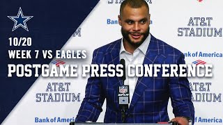 Dak Prescott Postgame Press Conference:...