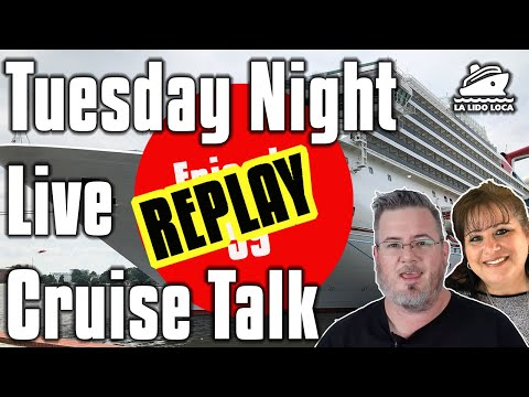 What's In A Name And Group Cruise Announcement - Tuesday Night Live Cruise Chat 59