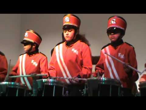 Kerman Middle School Percussion 2015