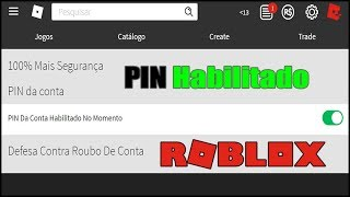 How to enable and Disable the Roblox Account PIN