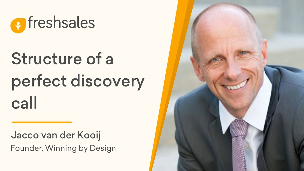 Jacco van der Kooij: Structure of a Perfect Discovery Call