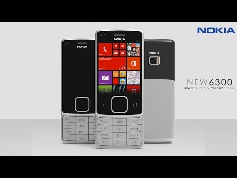Nokia 6300 Redesign | 2017 | Touch Display Smartphone |