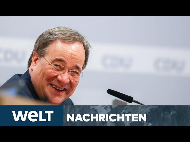 LASCHET VERHINDERT MERZ: Triumph der Merkel-CDU - ihr Mitte-Mann setzt sich klar durch