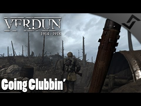 Going Clubbin' - Verdun 1914-1918 - Trench Club Wave Defense Gameplay