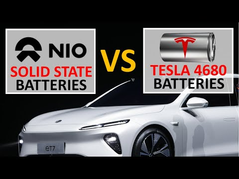 Tesla New Battery Tech vs Nio Solid State Batteries (Part 1: Energy Density)