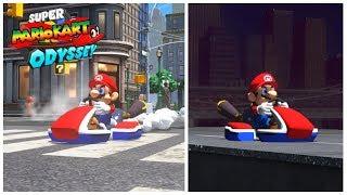 Super Mario Kart Odyssey - Mario Kart in Super Mario Odyssey