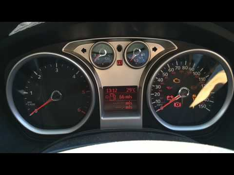 Ford Focus 2009 Tcdi Instrument Cluster Fault